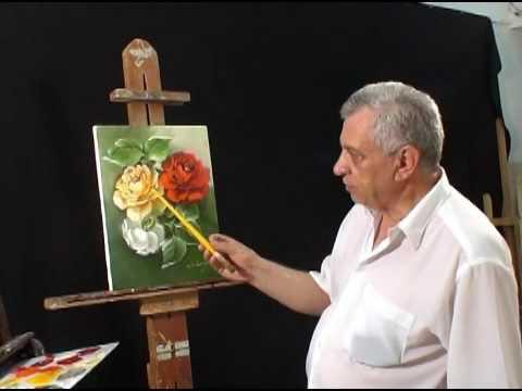 Rosas detalhadas