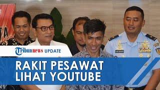 Chaerul, Pria Sulsel yang Sukses Rakit Pesawat Sendiri Akui Belajar dari YouTube, Gagal 4 Kali