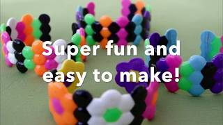 DIY Melted Bead Bracelets