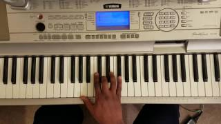 "Freddie Jackson ""Love Is Just A Touch Away"" Easy Piano Tutorial"