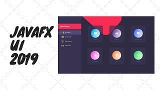 javafx ui 2019 sample
