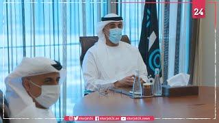 """خالد بن محمد بن زايد يستعرض نتائج اندماج """"أبوظبي الوطنية للطاقة"""""""