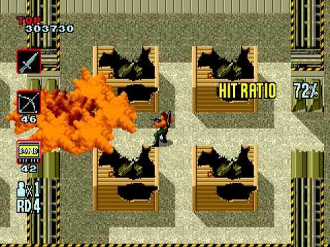 [Full GamePlay] Rambo III (Hardest Mode) [Sega Megadrive/Genesis]