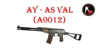 [ОБЗОР] AY - АС ВАЛ AS VAL A0012 AEG airsoft (страйкбол)