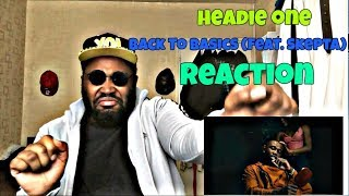 Headie One   Back To Basics (feat. Skepta) REACTION!!!