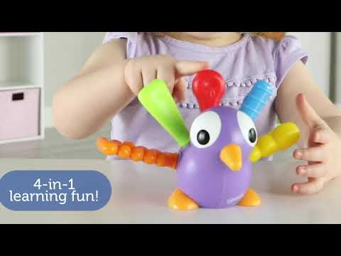 Youtube Video for Pedro Peacock - Your Fine Motor Friend