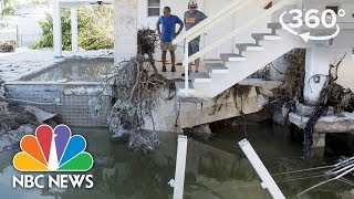 360 Video: Residents Return To Damaged Homes In Key West, Florida After Hurricane Irma | NBC News