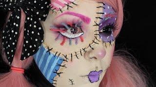 Rag Doll Halloween Makeup Tutorial