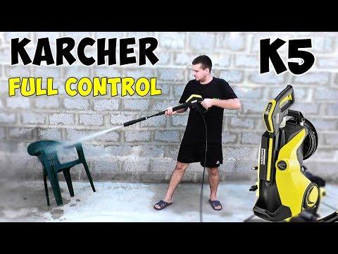 Обзор и сборка Karcher K5 Full Control - минимойка на все случаи жизни