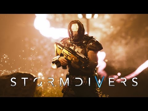 STORMDIVERS Official Trailer  de Stormdivers