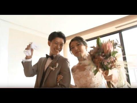 【5/1祝令和婚♡】長岡ベルナール初令和婚のおふたり☆ドーナツが好きな新婦が行った演出に注目♡