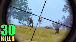 IF YOU LOVE SNIPERS WATCH THIS | 30 KILLS SOLO VS SQUAD | PUBG MOBILE