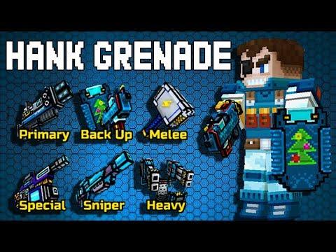 Pixel Gun 3D - Hank Grenade Set