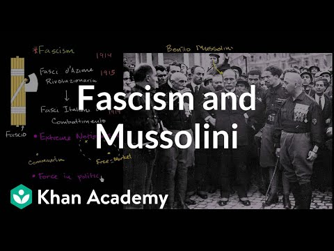 Fascism and Mussolini (video) | Khan Academy