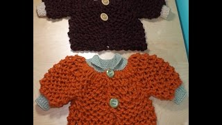 How to knit a baby sweater - with Ruby Stedman