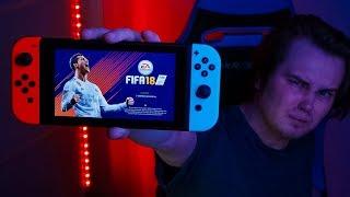 КОНСОЛЬ ДЛЯ ИДИОТОВ | ФИФА НА НИНТЕНДО СВИЧ