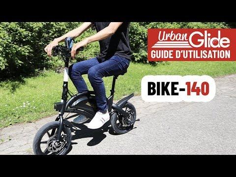 BIKE-140 : Prise en main du vélo électrique BIKE-140
