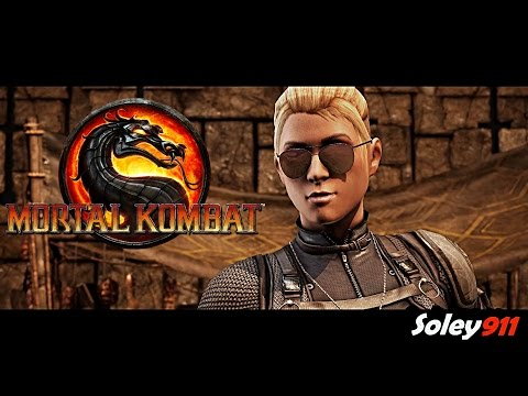 Mortal Kombat X Sonya Blade vs Cassie Cage PC maxed out 60 FPS Gameplay