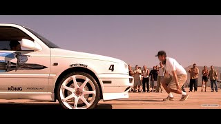 Форсаж The Fast and the Furious \ Джесси бросает вызов Джонни Трану