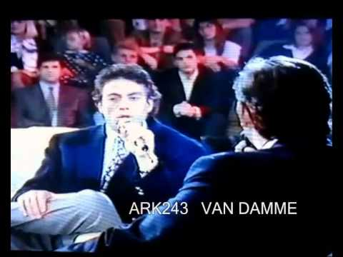 Jean Claude Van Damme  _  (RARE)  Sacrée Soirée 1993
