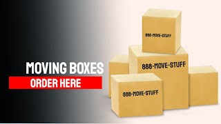 MOVING BOXES ONLINE - CHEAP MOVING BOXES
