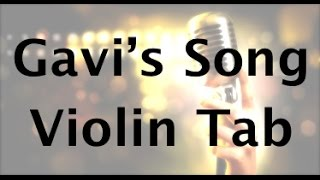 Learn Gavi's Song By Lindsey Stirling On Violin  - How To Play Tutorial