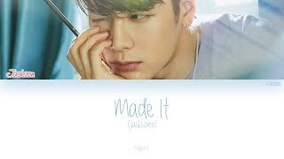 [ENG] GOT7 (Jackson (잭슨)) - Made It (Color Coded Lyrics)