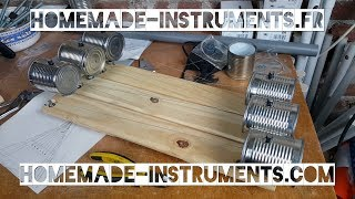 Homemade Instruments - 04 How To Make A Tin Can Cymbalum