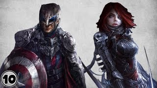 Top 10 Scariest Alternate Versions Of Avengers - Part 2
