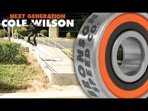 Cole Wilson for Bronson Speed Co: Next Generation Bearings