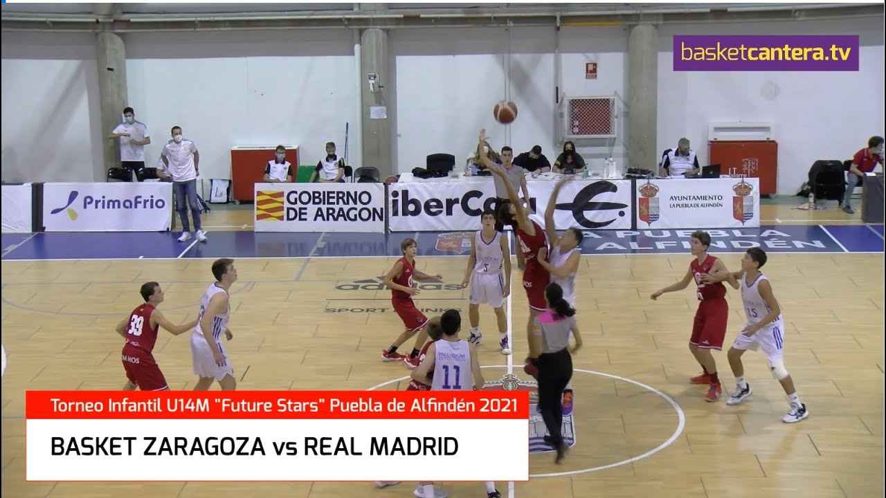 U14M - BASKET ZARAGOZA vs REAL MADRID.- Semifinal Torneo