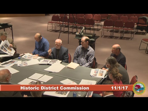 Historic District Commission 11.1.2017
