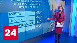 """""""Погода 24"""": на Русской равнине окрепли морозы - Россия 24"""