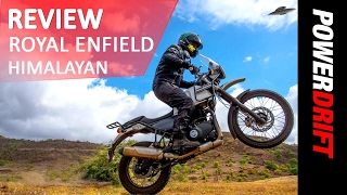 Review : Royal Enfield Himalayan : PowerDrift