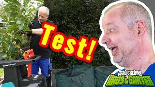 Bosch AXT 25 TC - Best Häcksler Ever!? Livetest des Turbinenhäckslers | DerDickeDirk