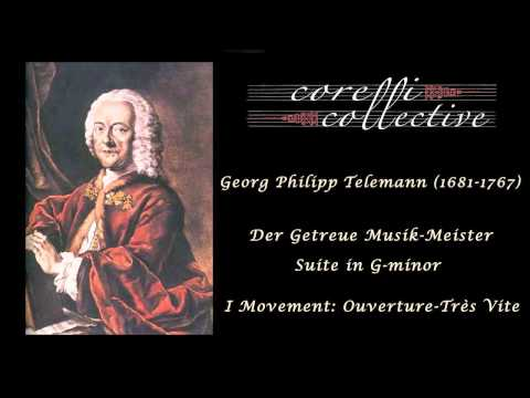 Telemann, Suite in G minor -  Ouverture-Tres Vite