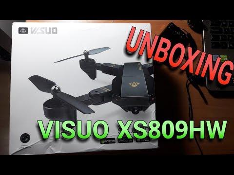 UNBOXING VISUO XS809HW BANGGOOD