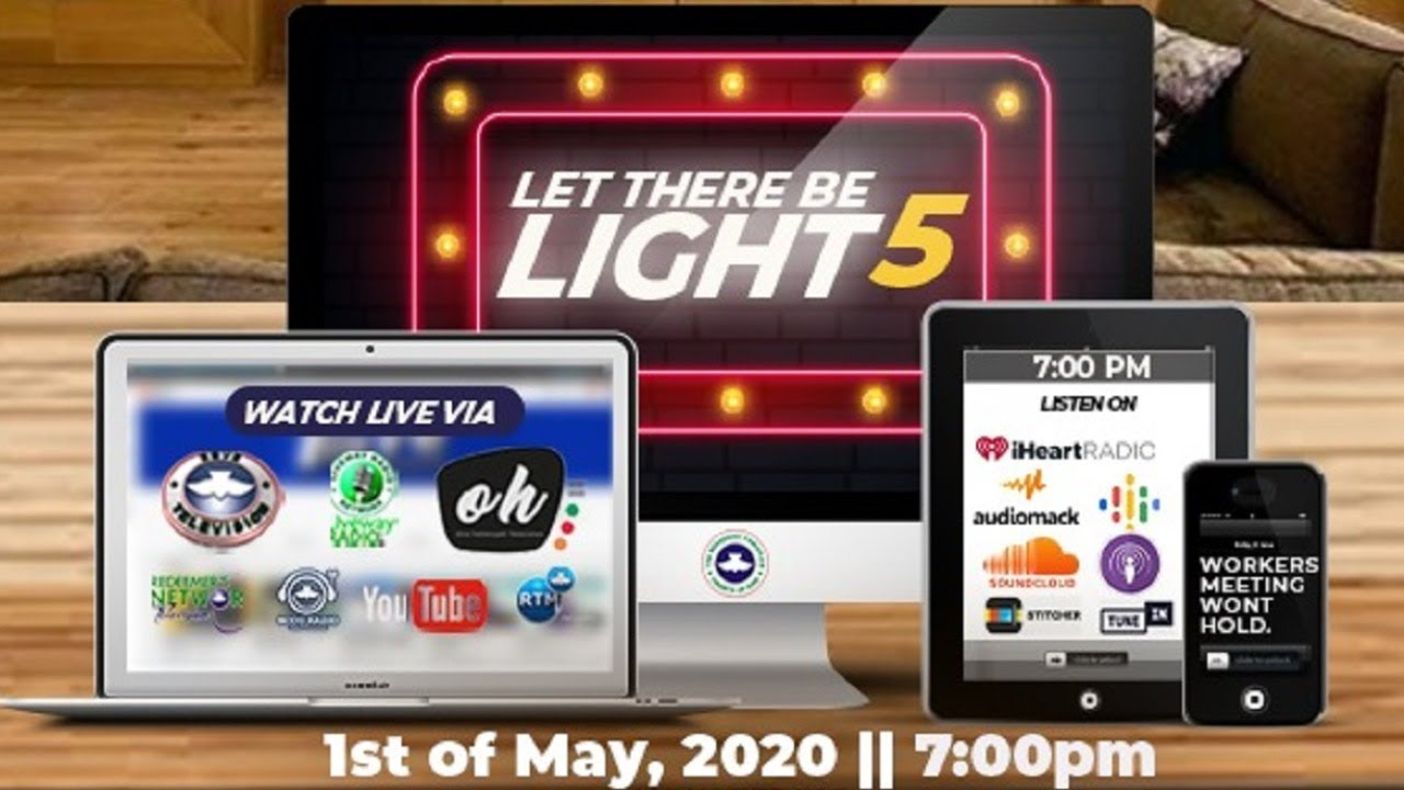 RCCG 1st May 2020 Holy Ghost Service, RCCG 1st May 2020 Holy Ghost Service – Let There Be Light 5