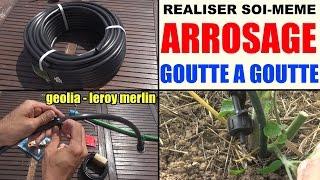 Arrosage Goutte à Goutte En Kit (à Composer Soi-même !) Leroy Merlin Geolia Gardena