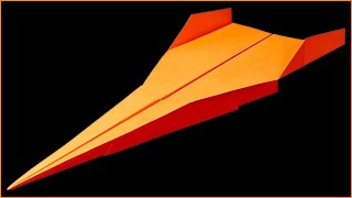 How to make a paper airplane that FLIES 100 FT far - BEST paper airplanes in the World . Linda