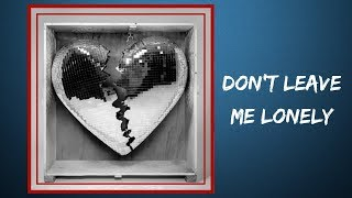 Mark Ronson    Don't Leave Me Lonely (Lyrics)Feat. YEBBA