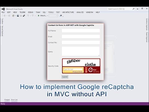 Download How To Implement Google Recaptcha In Asp Net Mvc