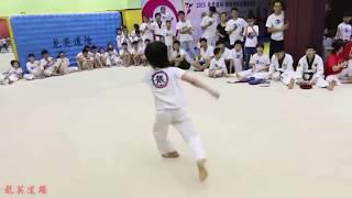 Lin Qiunan VS Jaden Smith (Taekwondo)