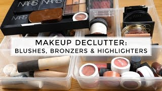 Makeup Collection Declutter 2017: Blushes, Bronzers & Highlighters
