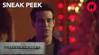 Shadowhunters | Season 2, Episode 15 Sneak Peek: Simon Visit Bleeder Den | Freeform