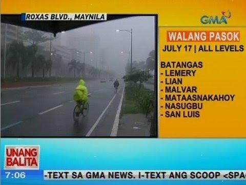 [GMA]  UB: Masungit na panahon, nagpapatuloy sa Maynila