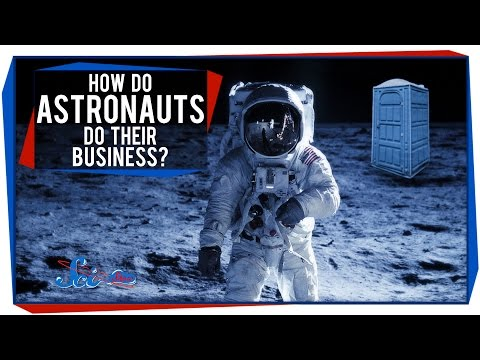 How Do Astronauts Poop - Pics about space