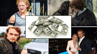 Sam Heughan's ★ Net Worth ★ Girlfriend ★ Family ★ Cars ★ Fashions  | 2017 | Outlander Star