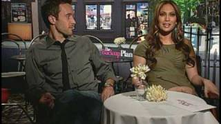 Jennifer Lopez And Alex OLoughlin Interview For THE BACK-UP PLAN
