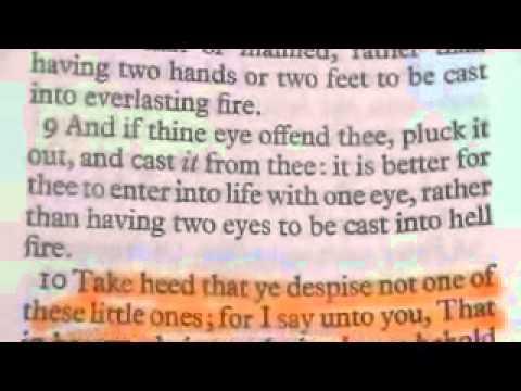 Book of MATTHEW king James Bible